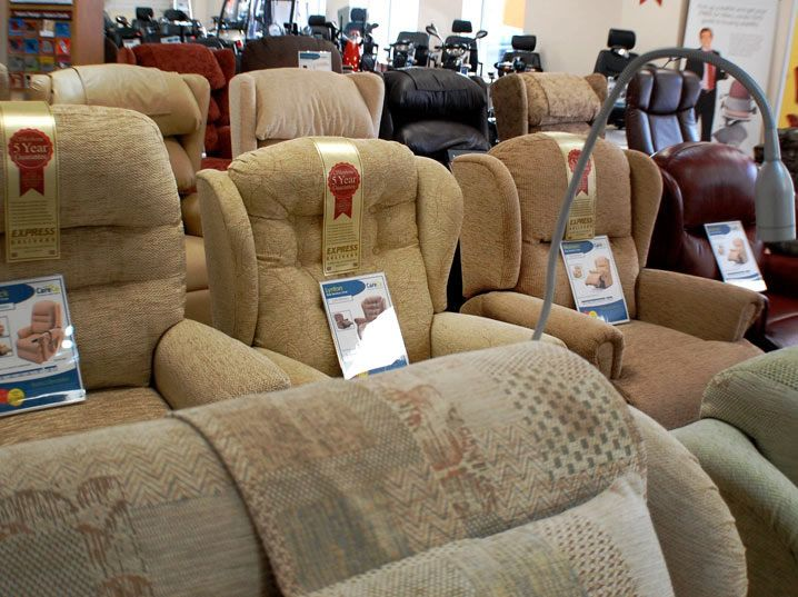CareCo - The Discount Mobility Experts 100's of Riser Recliner Chairs available for collection or FREE next day Delviery!  Call our Brentwood Showroom on -01277 237037
