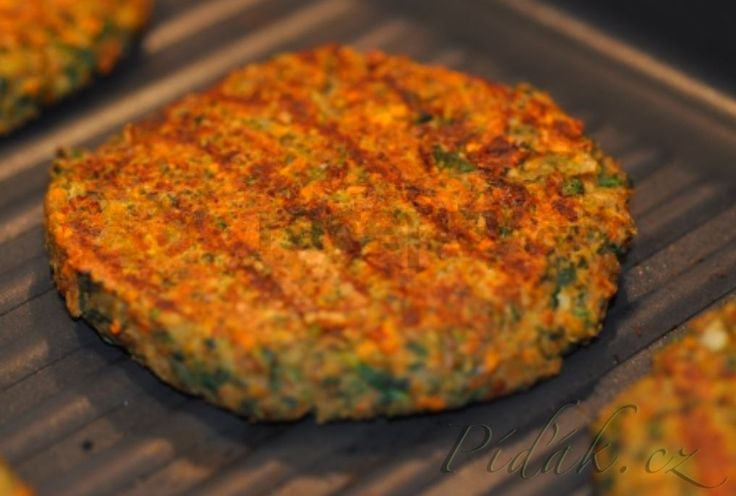 Obrázek z Recept - Čočkové burgery (Scott Jurek) - vegan