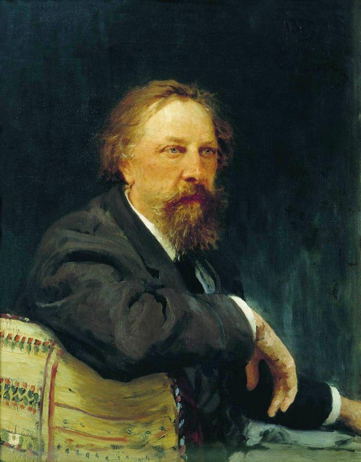 Илья Репин Портрет Алексея Константиновича Толстого