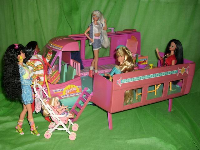 My Western Barbie's Caravan