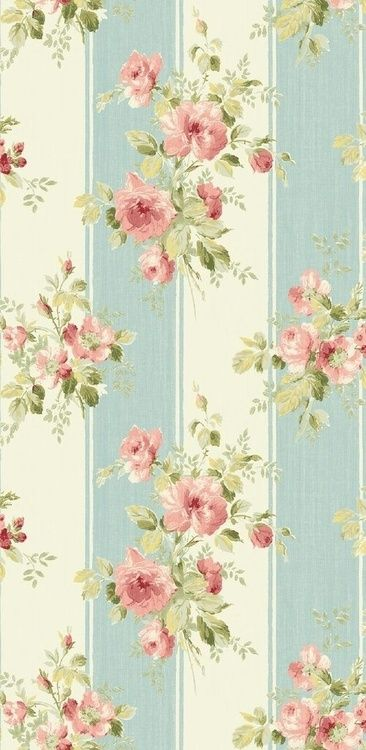 floral backdrop for all your vintage treasures and creamy linens