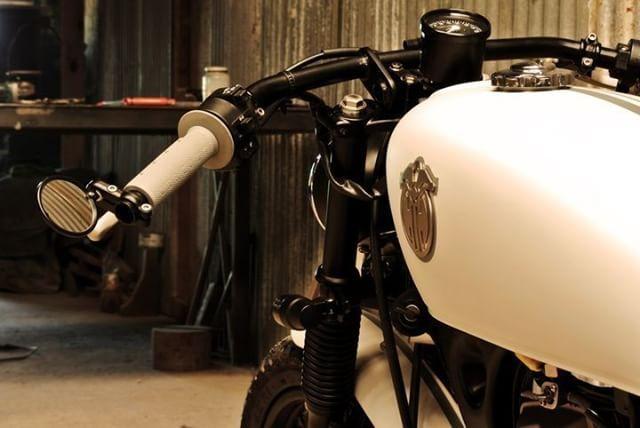 Honda CG 125 Cafe Racer by Caffeine Custom #motorcycles #caferacer #motos | caferacerpasion.com
