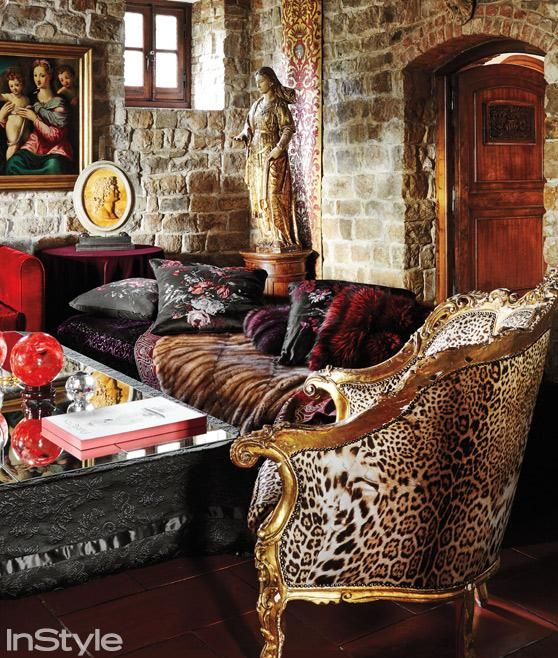Fidi Interior Design Courses In Florence Italy An: 76 Best Roberto Cavalli Home Images On Pinterest