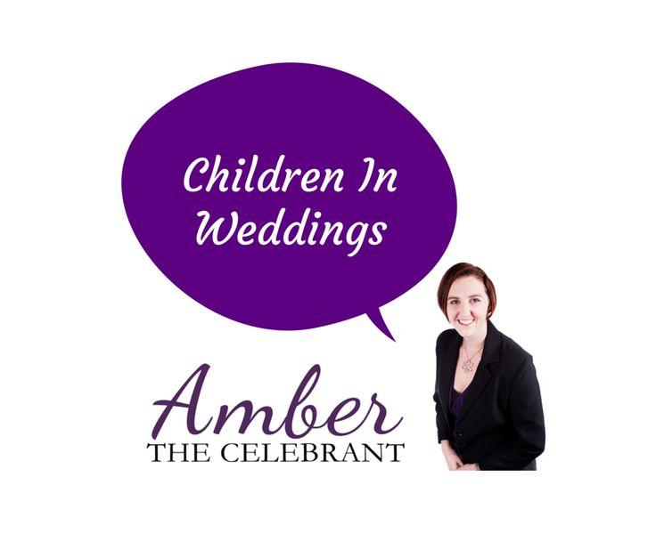 Ways to incorporate Children into you Wedding. http://www.amberthecelebrant.com/ kids offspring flowergirl page boy ushers