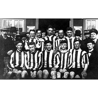 Aalborg soccer team 1913 by Aalborg Stadsarkiv, via Flickr