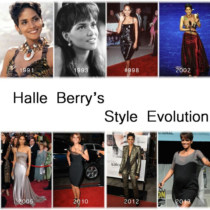 Halle Berry's Style Evolution since her debut in 1991 in Jungle Fever