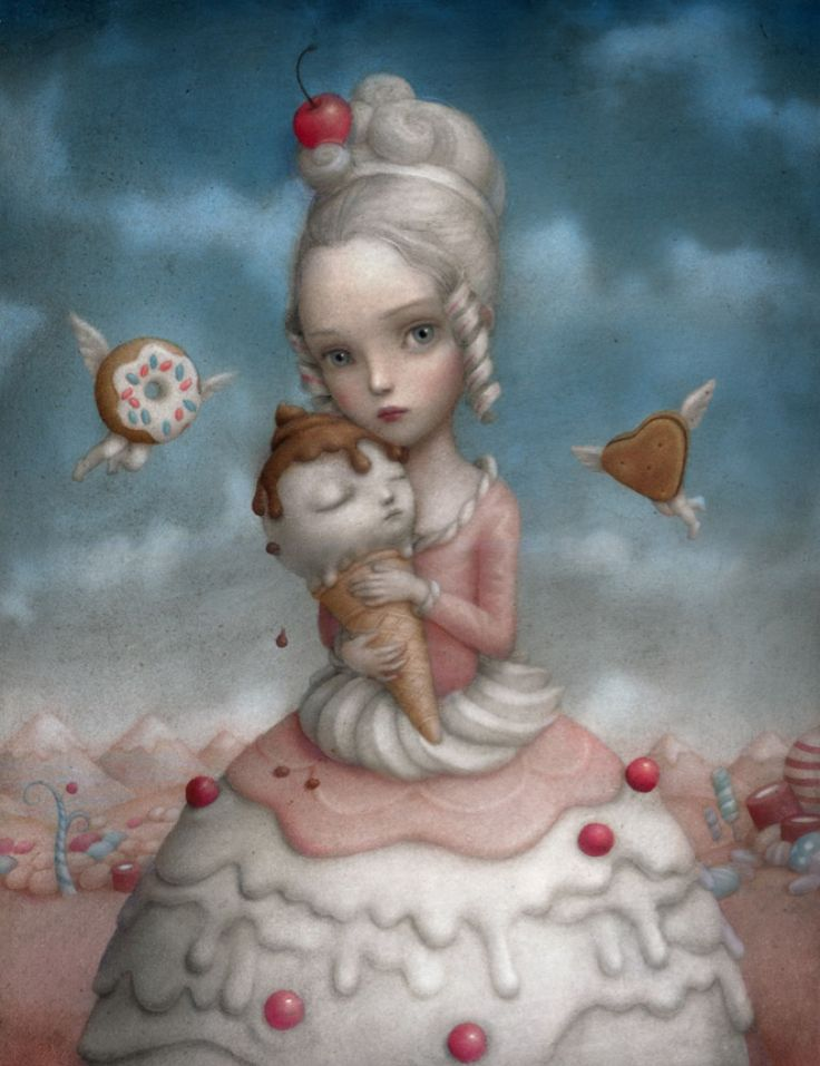 If You Love Mark Ryden You'll Love Nicoletta Ceccoli: 'Curiouser + Curiouser' Comes To AFA (PHOTOS)