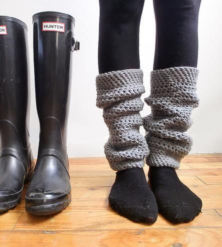 Crochet Legwarmers  #streetstyle #winter