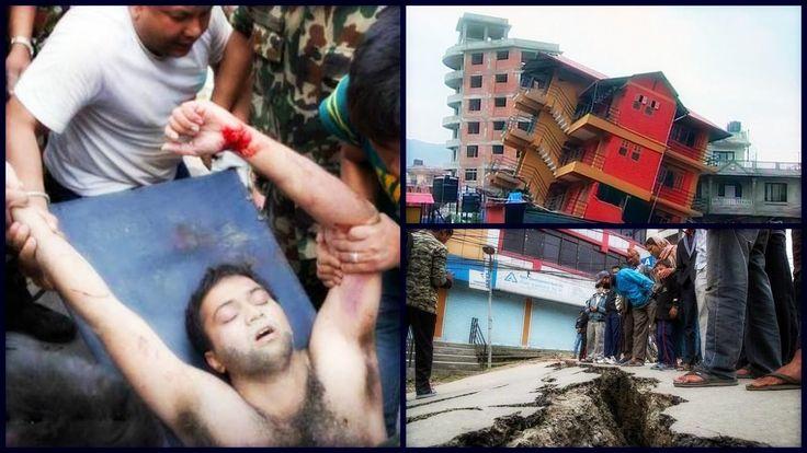 Nepal Earthquake CCTV live footage 2015