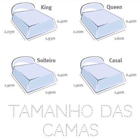 25 best ideas about medidas cama king on pinterest for Medidas de camas matrimoniales queen y king