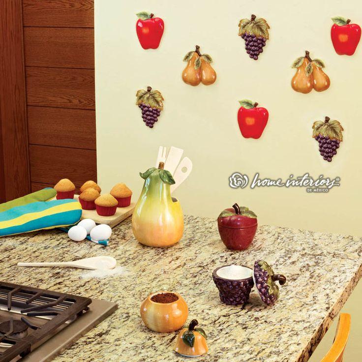 Elementos frescos y llenos de color para decorar tu cocina for Elementos cocina