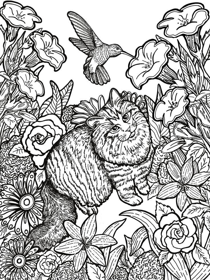 Mejores 20 imágenes de Drawings for my Coloring Books en Pinterest ...