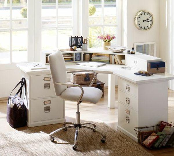 1000 bilder zu schreibtisch in der ecke auf pinterest. Black Bedroom Furniture Sets. Home Design Ideas