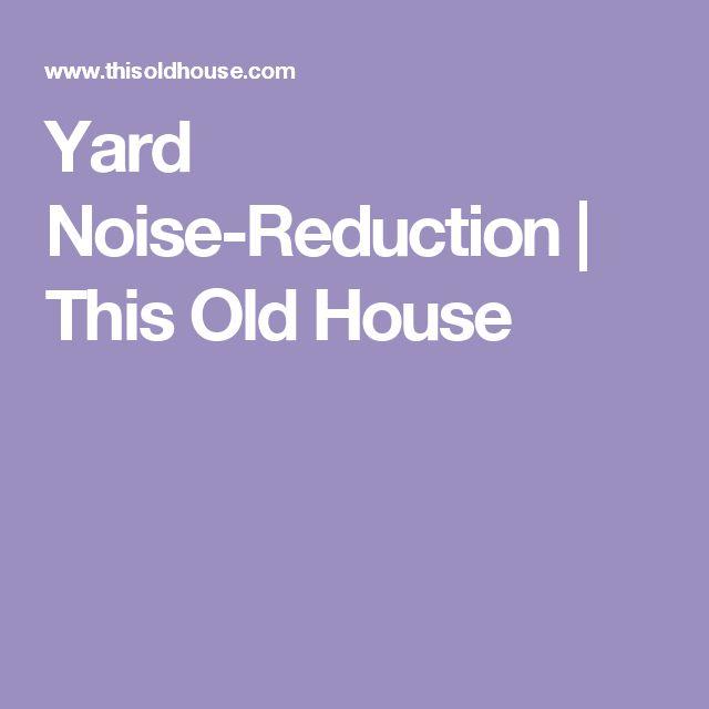 Best 25 Noise Reduction Ideas On Pinterest Portable