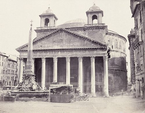 View of the Pantheon, Rome 1863 (ca)
