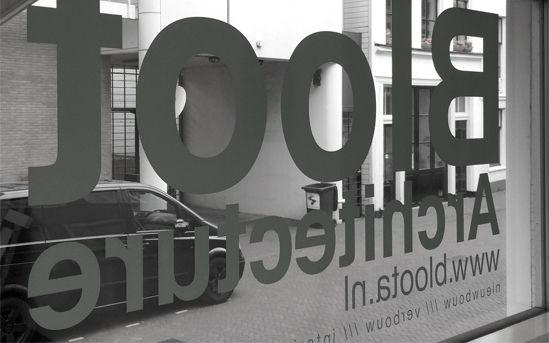Nieuw kantoor Bloot Architecture