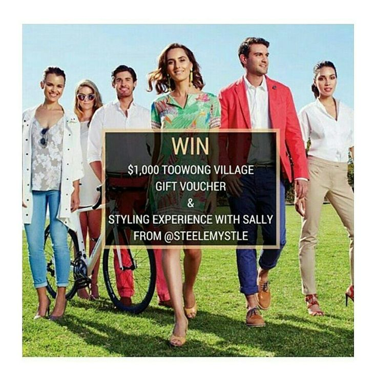 Instagram competition open until July 22 2015 easy 1. Follow both @toowongvillage @steelemystyle on INSTAGRAM 2. Repost image   3. #celebratingthenewtoowong make sure your profile is public winner chosen at random #toowong #brisbane #toowongvillage #personalfashionstylist #steelemystyle
