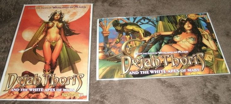 Dejah Thoris & the White Apes of Mars #1 & #2 (NM+) (Dynamite Entertainment)