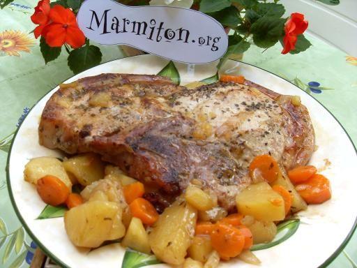 Rouelle de porc à l'ancienne : Recette de Rouelle de porc à l'ancienne - Marmiton