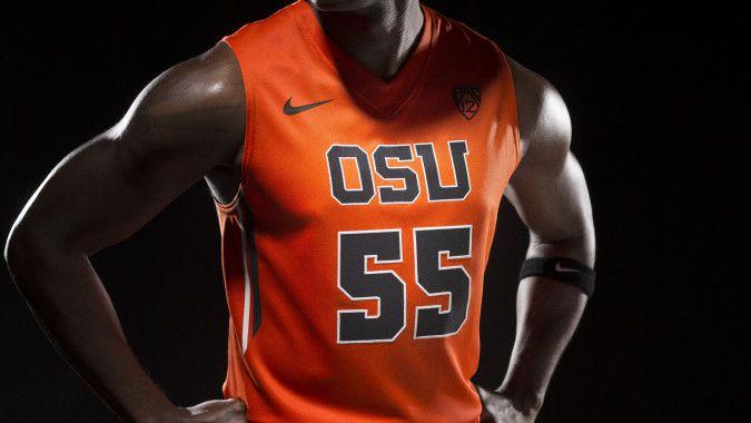 2013 OSU Beavers Orange Unis