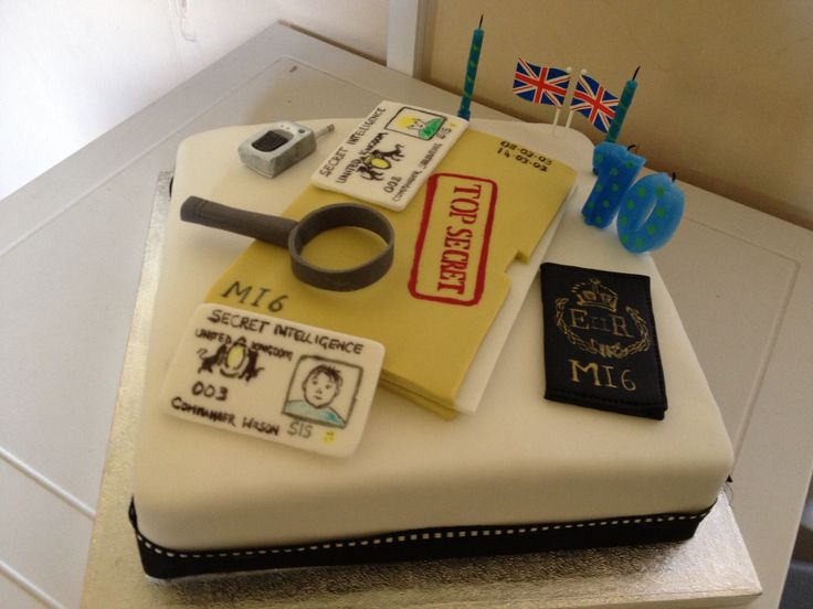 A fun Secret Agent/ Murder Mystery Party Cake. We have lots of contacts within Yorkshire so be sure to ask