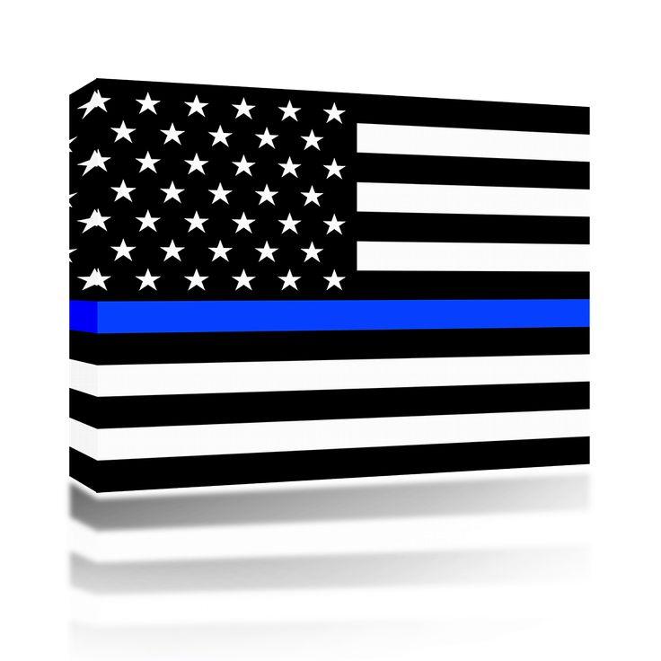 Police Flag Blue Line