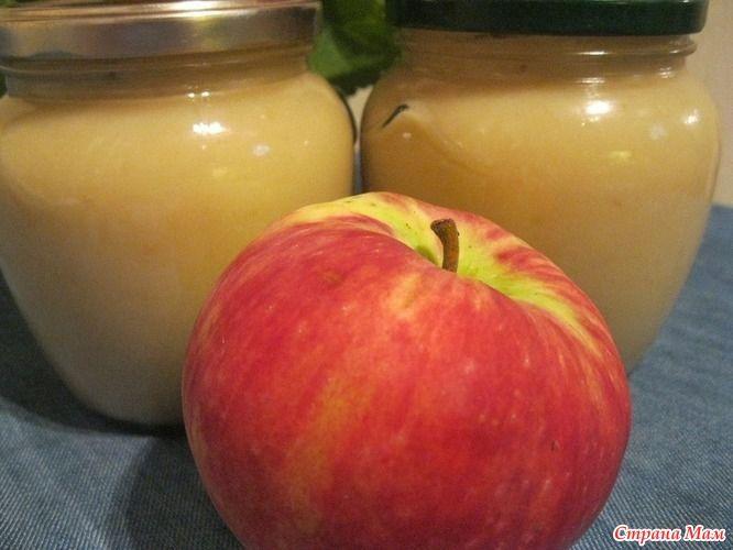 Яблочное пюре как в детстве. Очень быстро и вкусно.