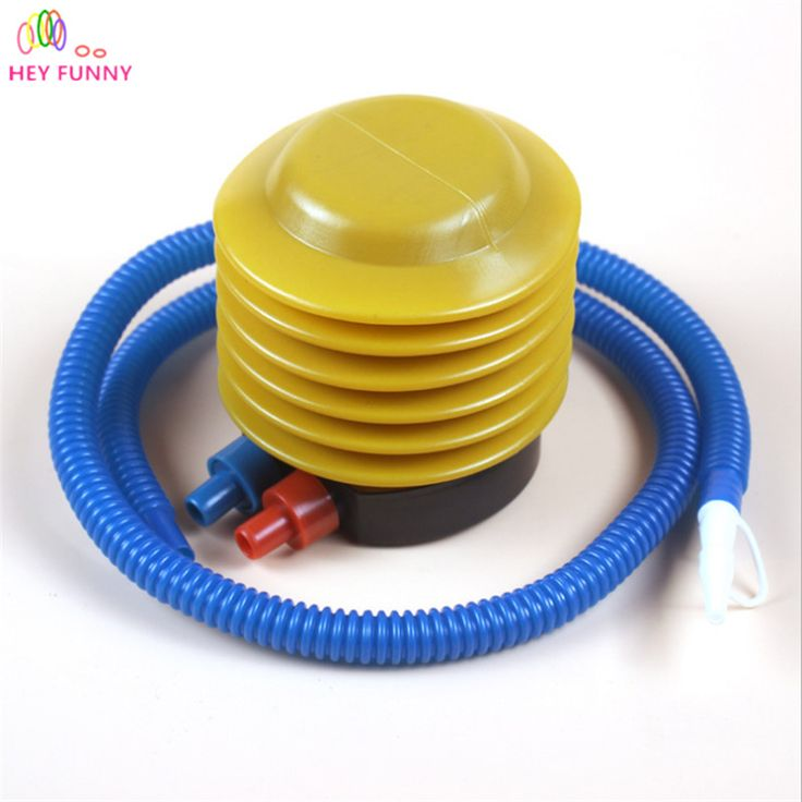 Hey Funny Essential Inflatable Float Toy Foot Pump Air