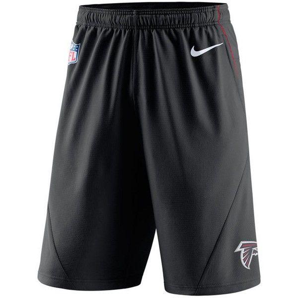 Nike Men's Atlanta Falcons Fly Xl 5.0 Shorts ($55) ❤ liked on Polyvore featuring men's fashion, men's clothing, men's activewear, men's activewear shorts, black, mens activewear and mens activewear shorts