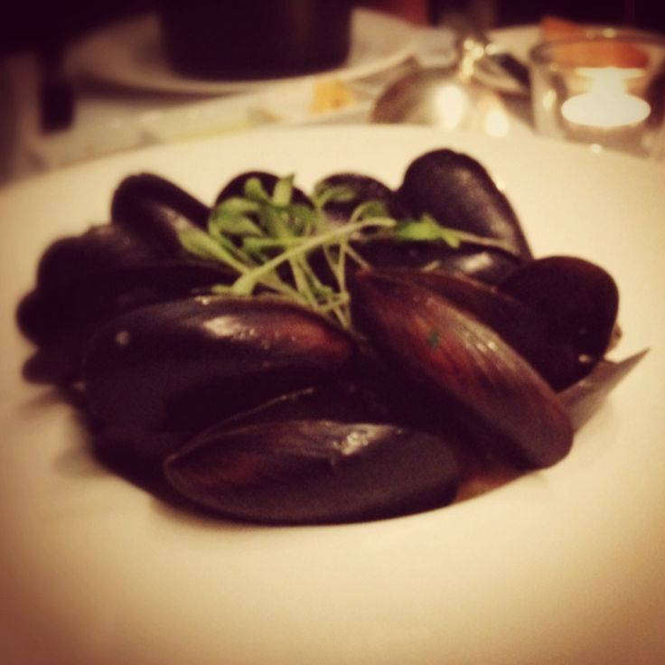 #mussels with creamy light #sauce