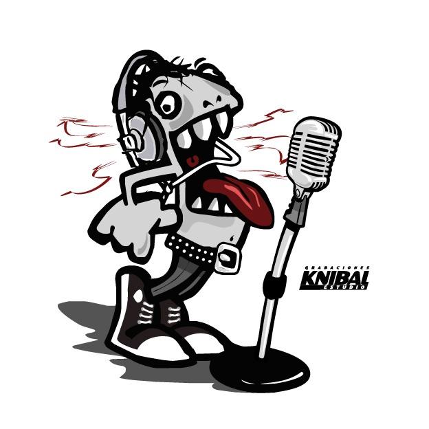 Logotipo para KNIBAL, Estudio de Sonido.