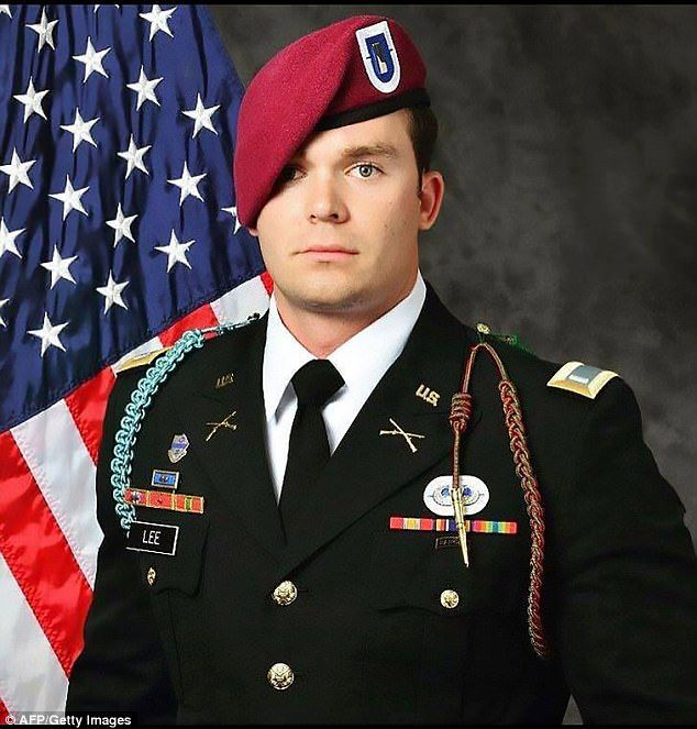 Lieutenant Weston C. Lee, 25, of Bluffton, Georgiawas killed in Iraq on Saturday when an improvised explosive device detonated during a patrol outside Mosul