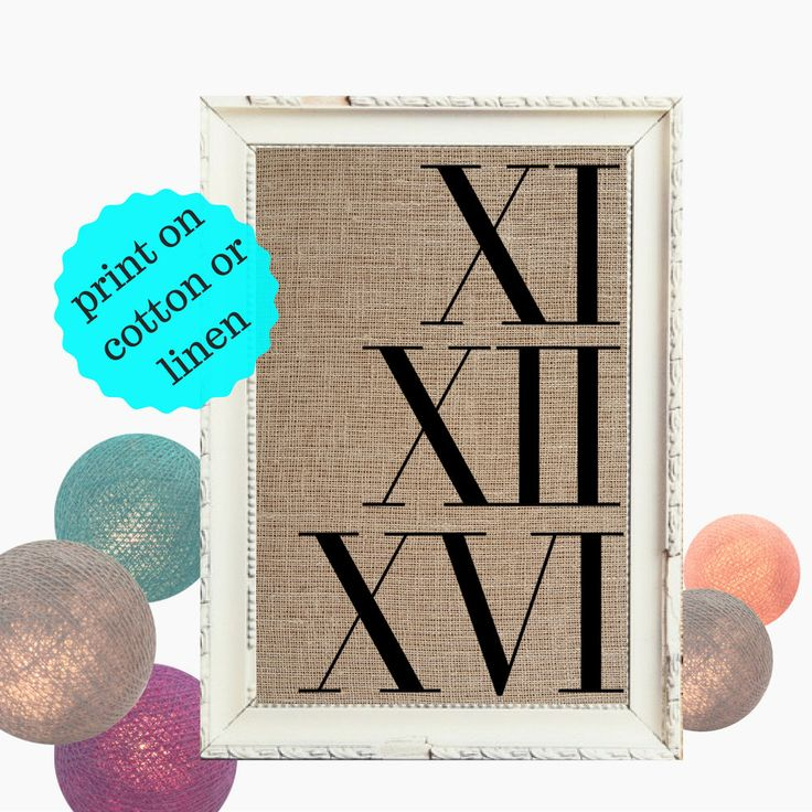 20 best Cotton Anniversary Gifts & Burlap prints images on ...
