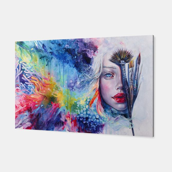 Coralized Canvas