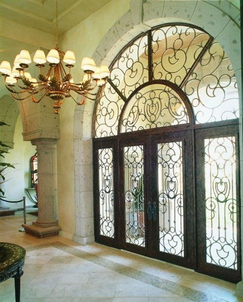 66 Best Images About Wrought Iron Fence On Pinterest