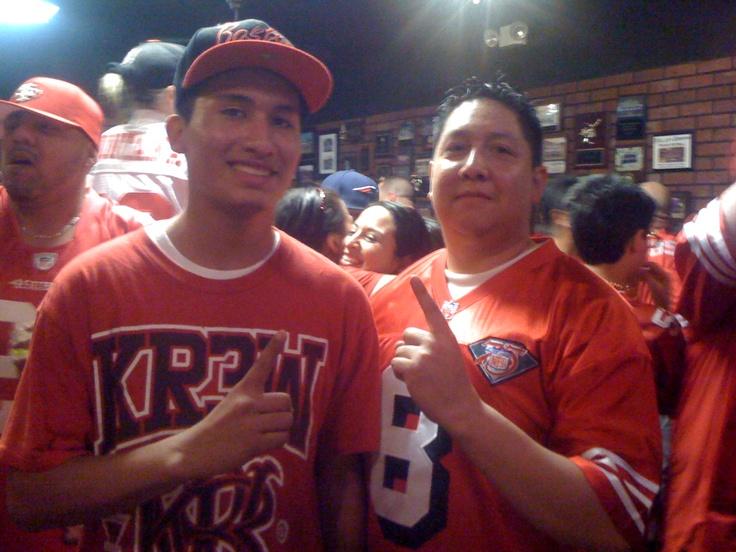 49ers Bar in Arizona