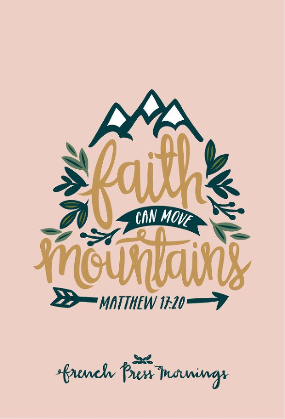"FPM - Matthew 17:20 - ""Faith can move mountains"""