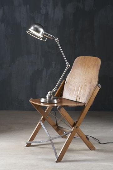 Sheffield Desk Lamp Nickel