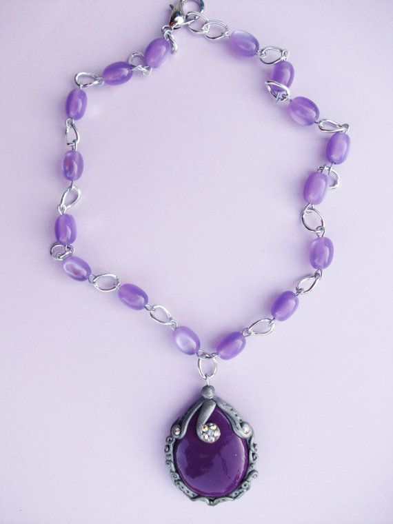 Sofia The First Amulet Necklace By Crystalnruby On Etsy