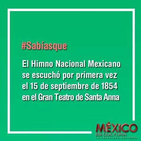 En un día cómo hoy nace  Francisco Gonzáles Bocanegra autor del Himno Nacional Mexicano.