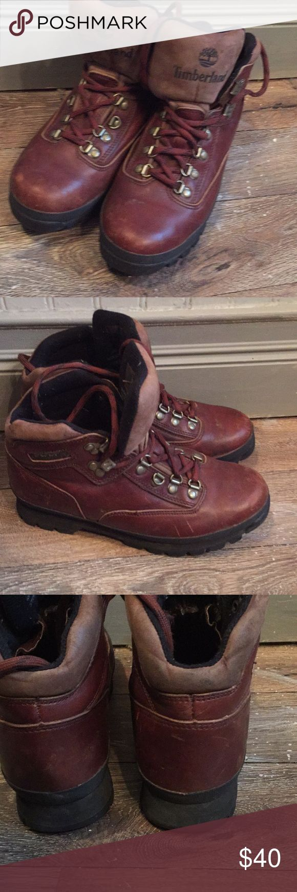Timberland leather hiking boots Leather rugged hiking boots Timberland Shoes Lace Up Boots