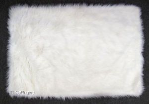 This White Fluffy Rug