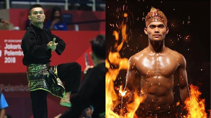 Foto Foto Yolla Primadona Aktor Ganteng The Raid 2 Yang Sumbang Emas Lewat Pencak Silat Pencak Silat Aktor Olahraga