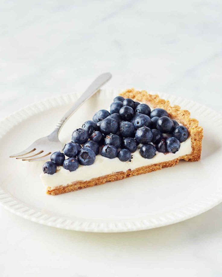 Tangy buttermilk is the perfect partner for sweet-tart blueberries in this simple make-ahead tart. Martha made this recipe on episode 701 of Martha Bakes.