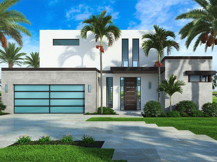Concrete Beach House Plans