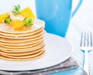 Pancakes ultra légères pour petit déjeuner détox : http://www.fourchette-et-bikini.fr/recettes/recettes-minceur/pancakes-ultra-legeres-pour-petit-dejeuner-detox.html