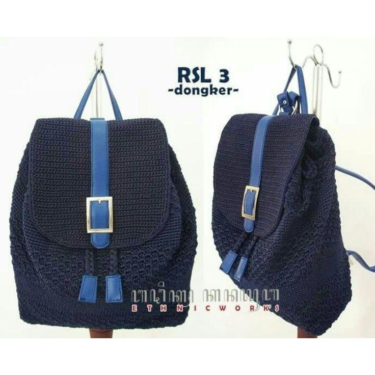 #crochetbackpack #crochetbag.  IG: kanayubag_store