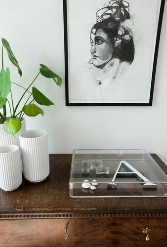 Lyngby Vase in white and different sizes