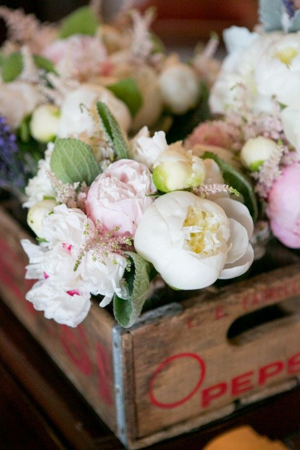 Rustic Elegant Wedding Flowers