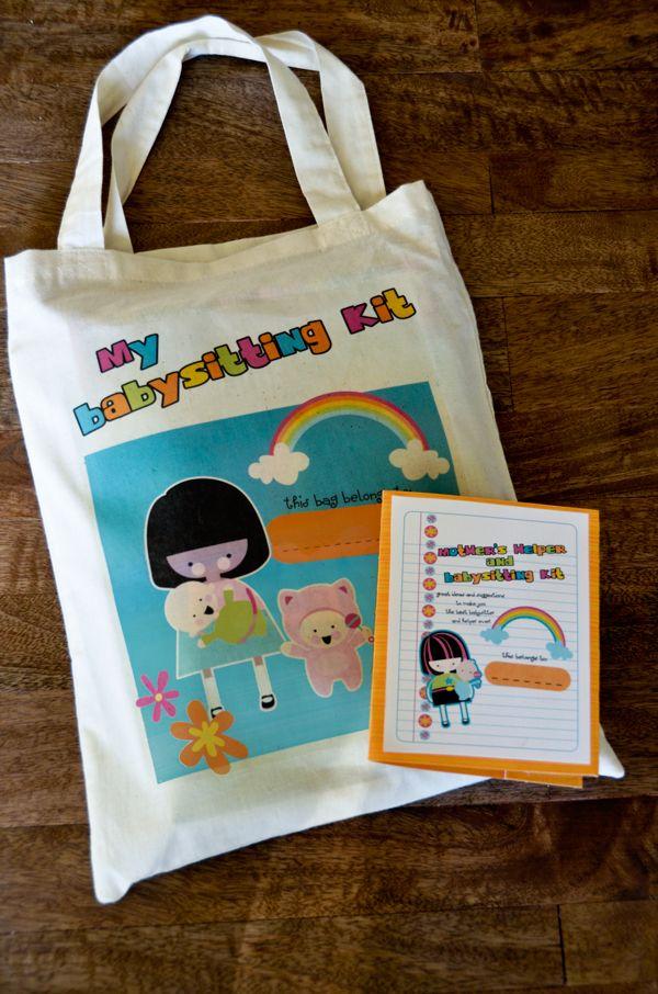 babysitting kit idea